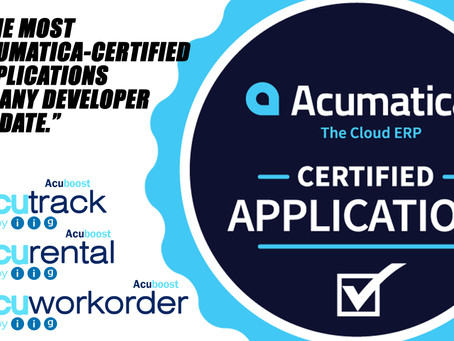 3 Acumatica-Certified Applications | Meet IIG at Acumatica Summit 2019