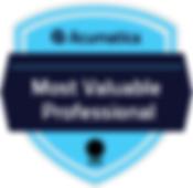 Acumatica – Most Valuable Professional