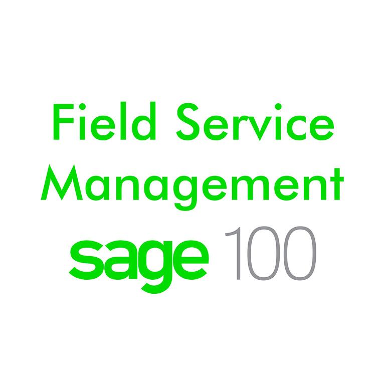 Field Service Sage100 Webinar