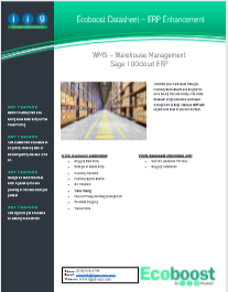 WMS - Warehouse Management
