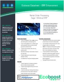 Rental Processing