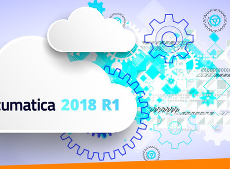 Acumatica 2018 R1 Released...What's New?