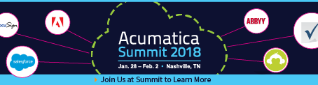 ACUMATICA SUMMIT 2018 – IIG LISTED AS GOLD SPONSOR