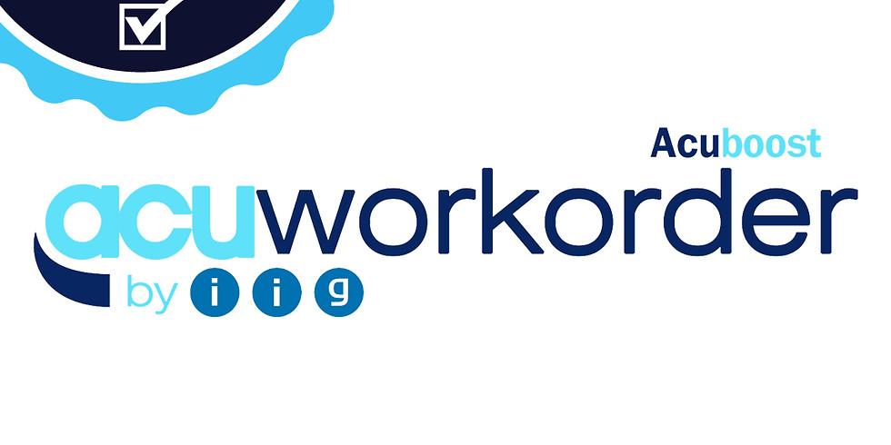 AcuWorkOrder Webinar (CERTIFIED)