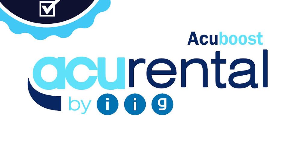 AcuRental Webinar (CERTIFIED)