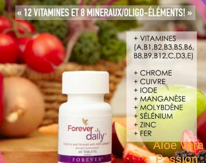 Forever Daily Multi Vitamines Aloe Vera Passion