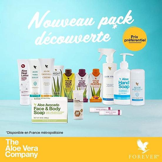 Pack Découverte Forever 14 produits à 150 € Aloe Vera Passion