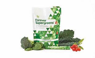 Superfoods composé de 20 variétés de fruits et légumes pour booster l'énergie et protéger les cellulesForever SuperGreens Aloe Vera Passion