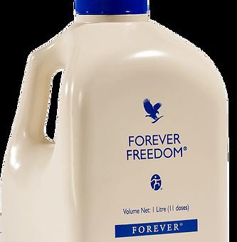 La bouteille d'aloe vera Forever Freedom contribue au fonctionnement normal des os et des cartilages. Ce flacon contient des nutriments de glucosamine et de chondroïtine ainsi que du soufre pour une bonne flexibilité des articulations