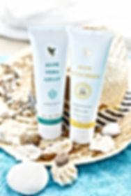 Gelly et Sunscreen Aloe Vera Passion
