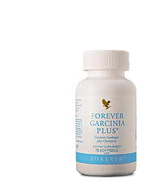 Capsule de Forever Garnicia Plus TM  régule l'appétit et bloque la transformation des sucres en graisses Contient du garnicia et du chrome - Réf 71- Aloe Vera