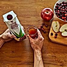 Mon Forever aloe nectar Berry à la pomme et canneberge ALOE VERA