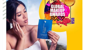 Global Beauty Awards 2020 USA pour le masque bio cellulose Forever !