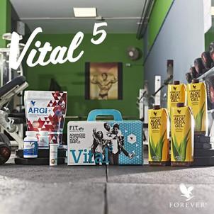 Force et vitalité avec le pack VITAL 5