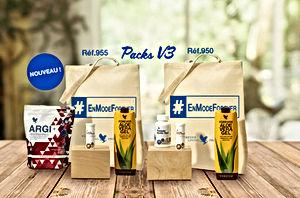 Pack V3 Forever sur la boutique en ligne aloeverapassion.com