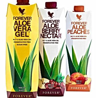 Pulpes d'aloe vera, aloe vera gel, aloe nectar Berry et aloe pêches contribuent au fonctionnement du système immunitaire. Pour détoxifier le corps et reduire la fatique. Forme et énergie retrouvées.