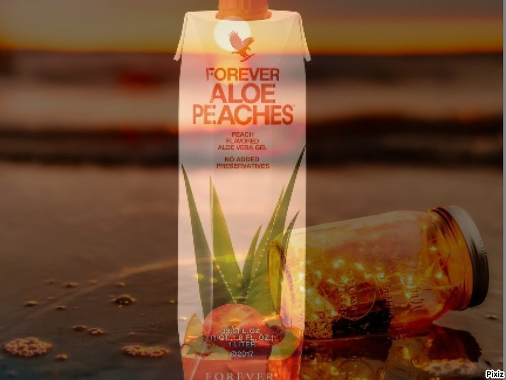 Pulpe Forever Aloe Pêche