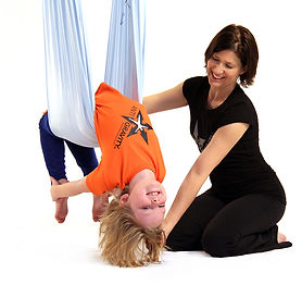 antigravity aerial yoga for kids and teens classes in hong kong