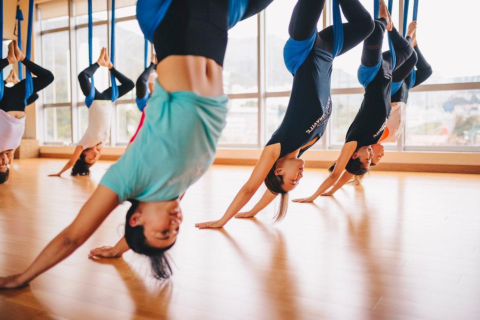 Aerial Yoga Training | Hong Kong | AntiGravity Fitness