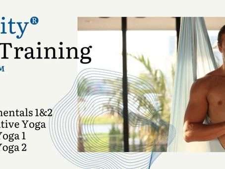 Anti Gravity Aerial Yoga Teacher Training Series in Hong Kong October 2021