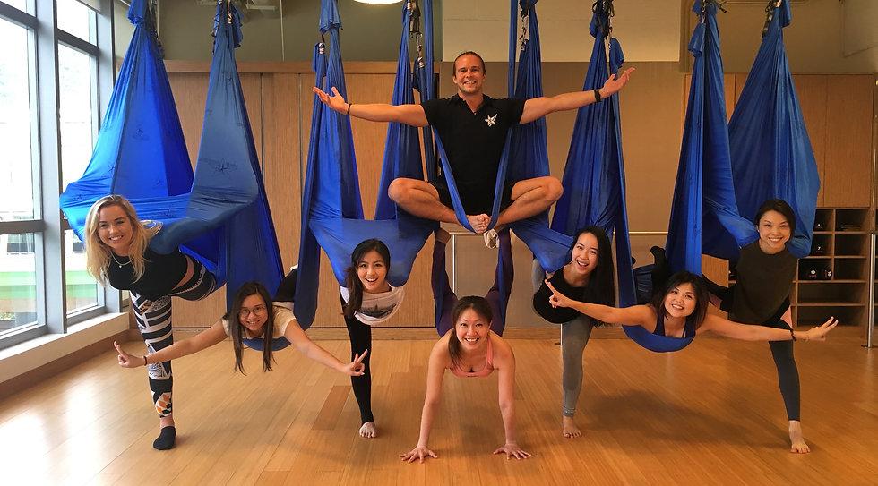 antigravity aerial yoga certification teacher training hong kong