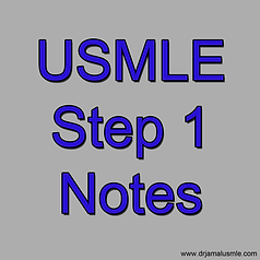 USMLE Step 1 Notes