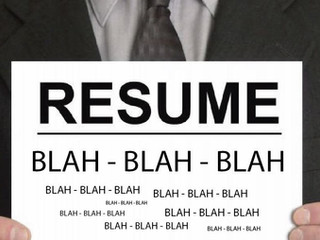 Things that should never show up on your CV!