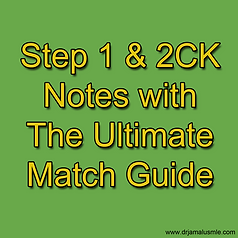 USMLE Step 1 & 2CK Notes with Match Guide