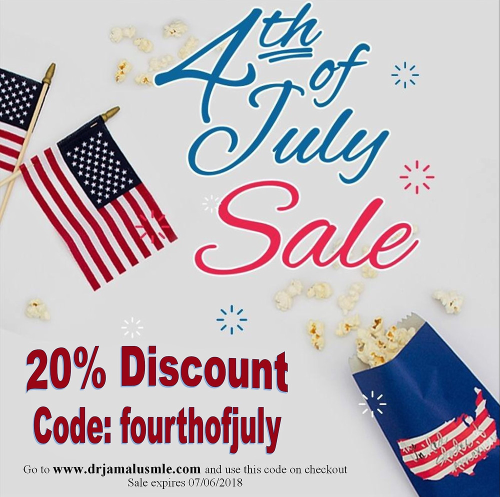 4th of July Sale! Dr Jamal's USMLE NOTES