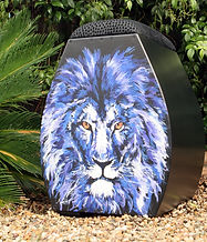 "Kingdom Kajon /Cajon ""Artist Series PRO"" cajon by Mary Crawford"