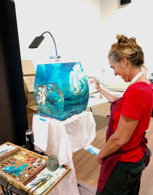 mARY PAINTING LIVE SCDS 2019