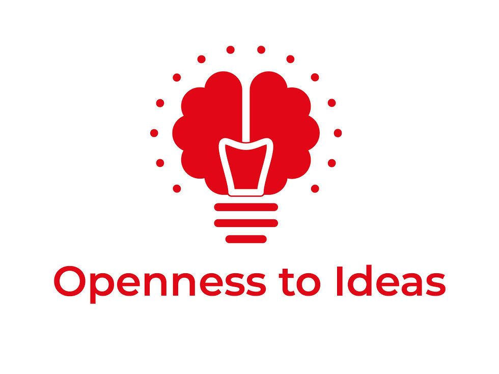 Open to new and innovative ideas