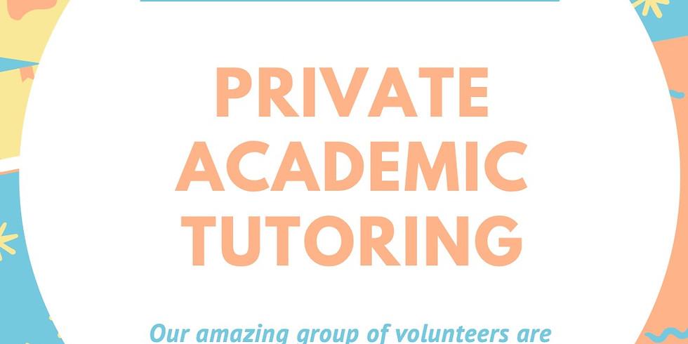 Virtual Academic Tutoring!