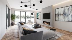 Broxlea living room