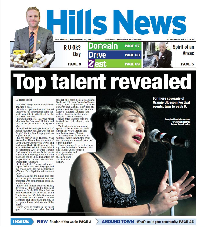 Georgina Hills News
