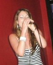 Alison Singing