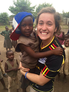 Christalis Uganda volunteer