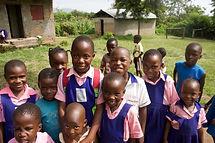 Ugandan children at school