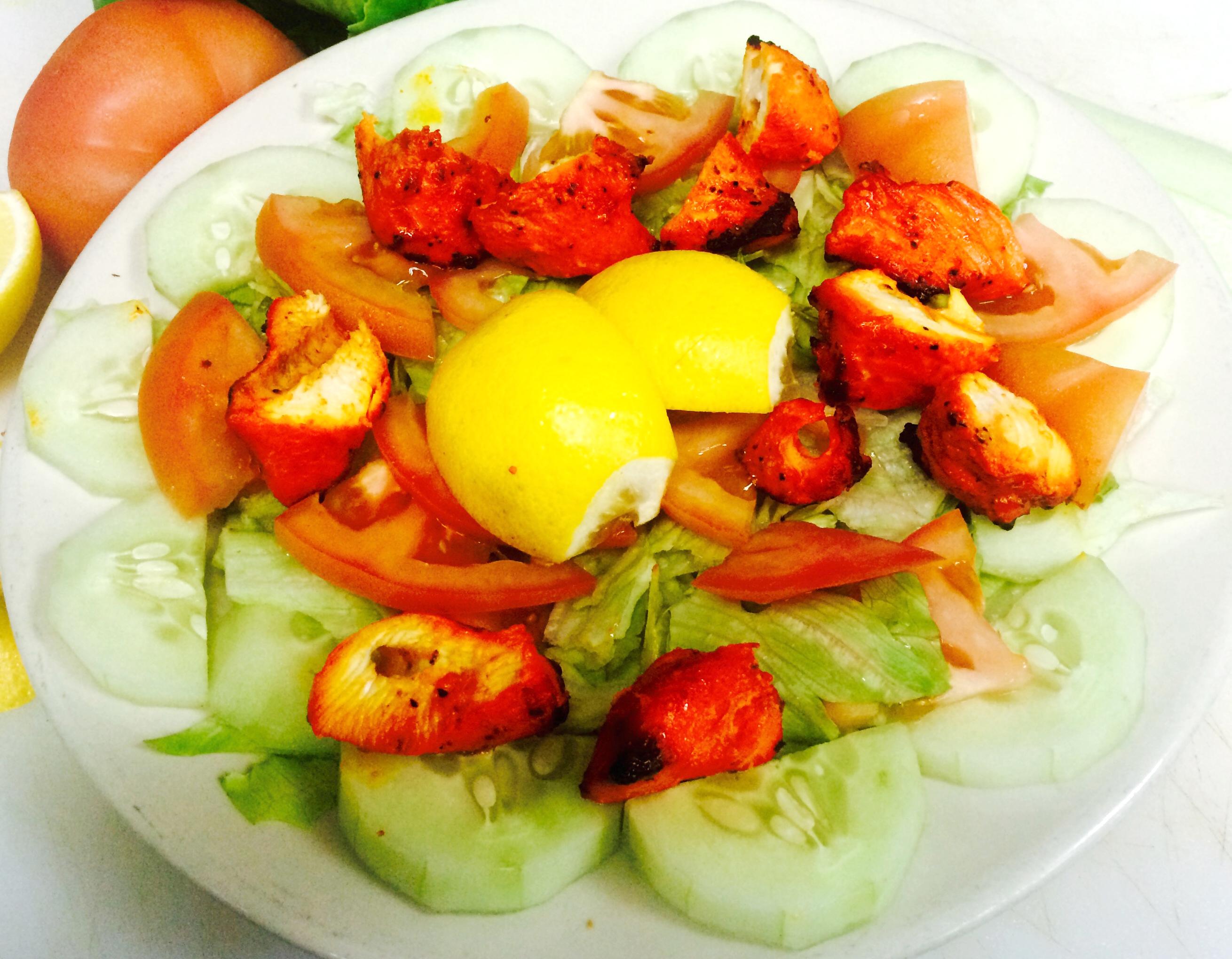 India taj palace salad