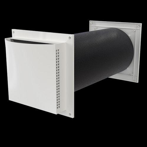 Friskluftsventil med ljuddämpning Aero 125 dB - 60-400 mm