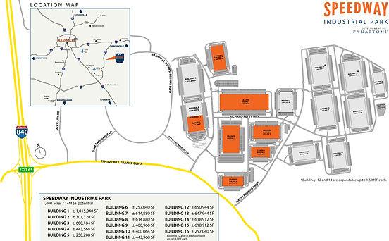 Speedway - Master Park Plan