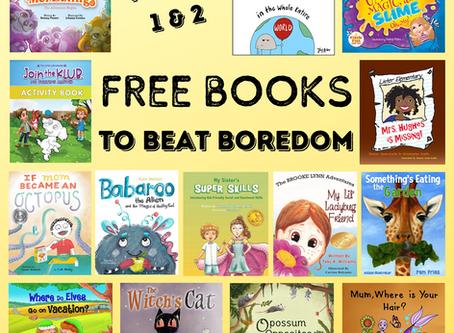 Beat Boredom With 13 FREE Books!