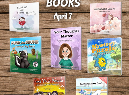 7 FREE books on the 7th to inspire your little one.