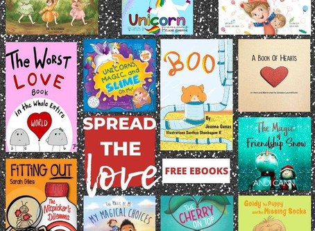 Spreading the LOVE of reading this Valentine's with 13 FREE eBooks, February 12th and 13th.