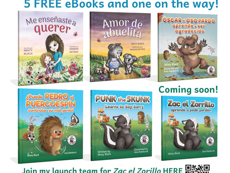 4 FREE eBooks in Spanish and one on the way!