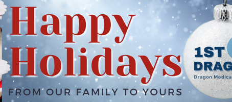 Happy Holidays from Our 1st-Dragon/CME Family to Yours!