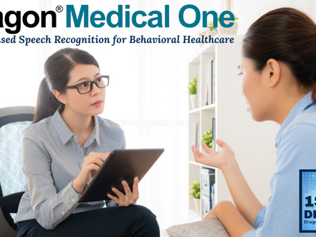 Behavioral Health Professionals Utilize AI Powered Speech Recognition to Speed Up Documentation