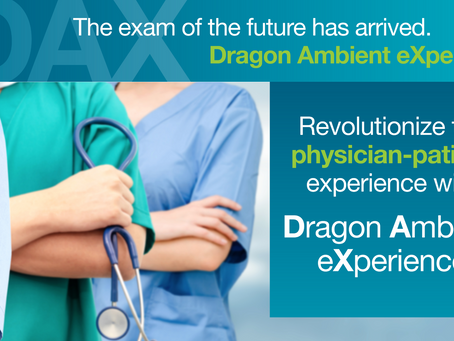 Nuance® Dragon Ambient eXperience™ Brings Clinical Intelligence into the EHR Documentation Process
