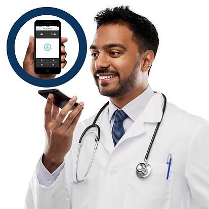 PowerMic Mobile-Turn any workstation into a dictation station and give clinicians the freedom to dictate, edit and navigate the EHR using their smartphone as a secure wireless microphone