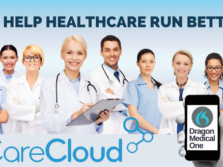 Nuance® Dragon® Medical One Paired with CareCloud's EHR Improves Patient Documentation Productivity